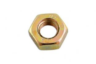 Connect 31352 Plain Steel Full Nut M20 Pack 50